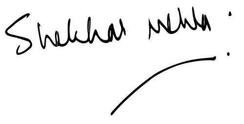 シェカール・メータサイン
